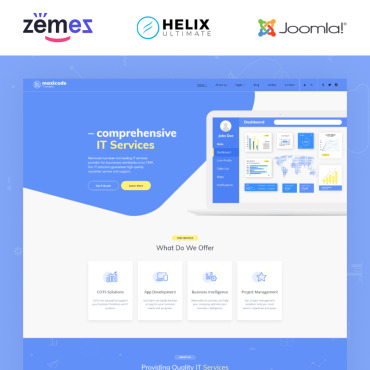 Template Software Joomla #89162