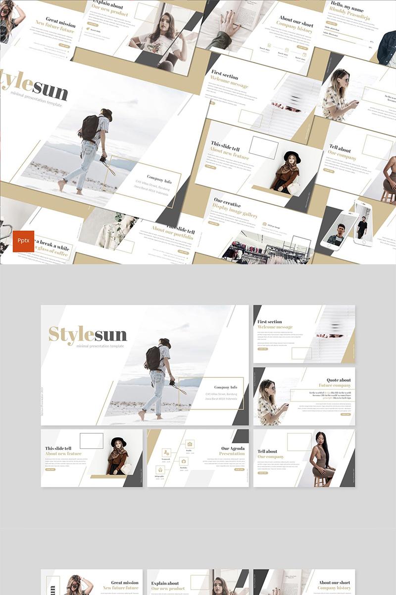 Stylesun PowerPoint Template