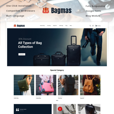 Website Template № 89334