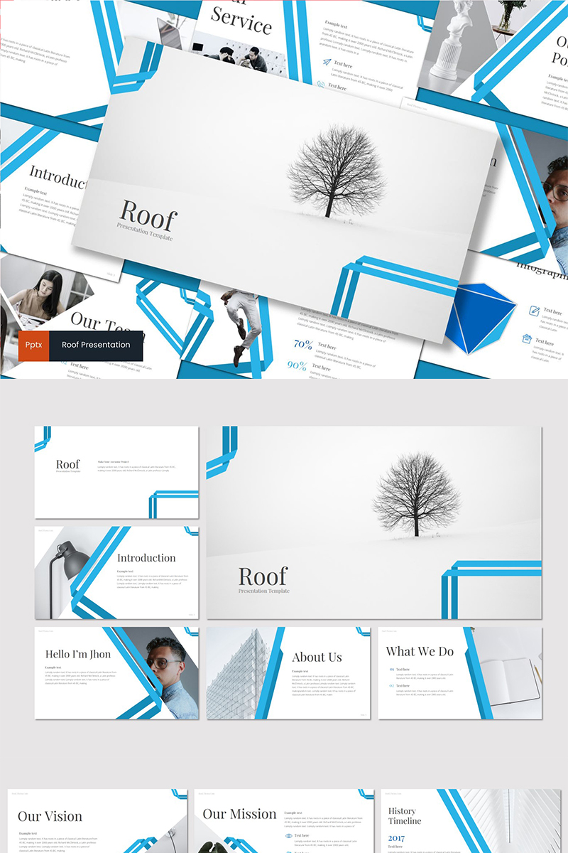 Roof PowerPoint Template