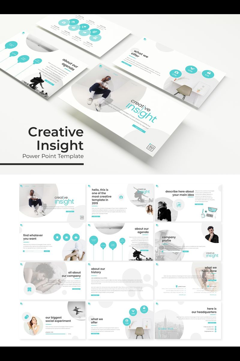 Creative Insight PowerPoint Template