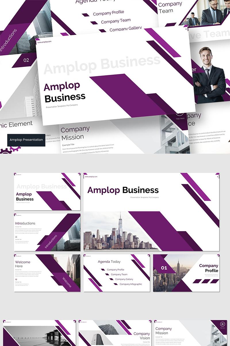 Amplop PowerPoint Template