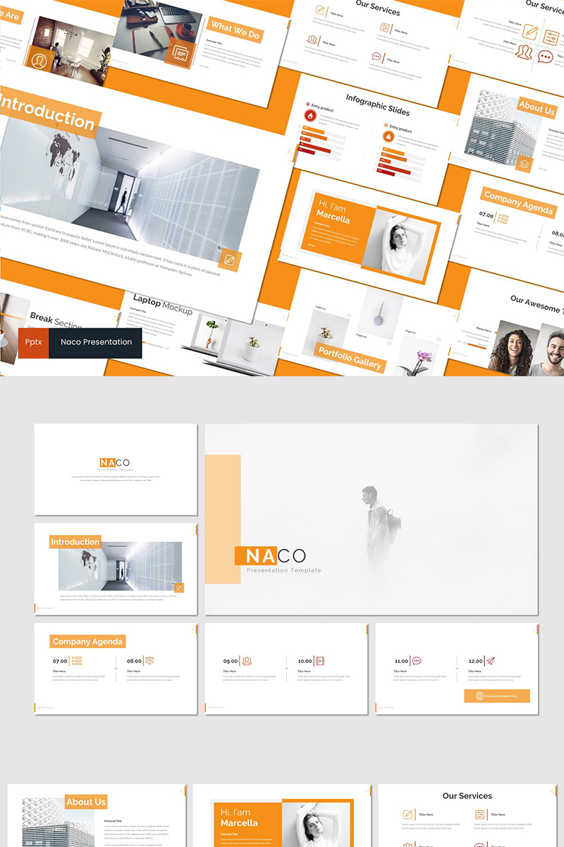 Naco PowerPoint Template