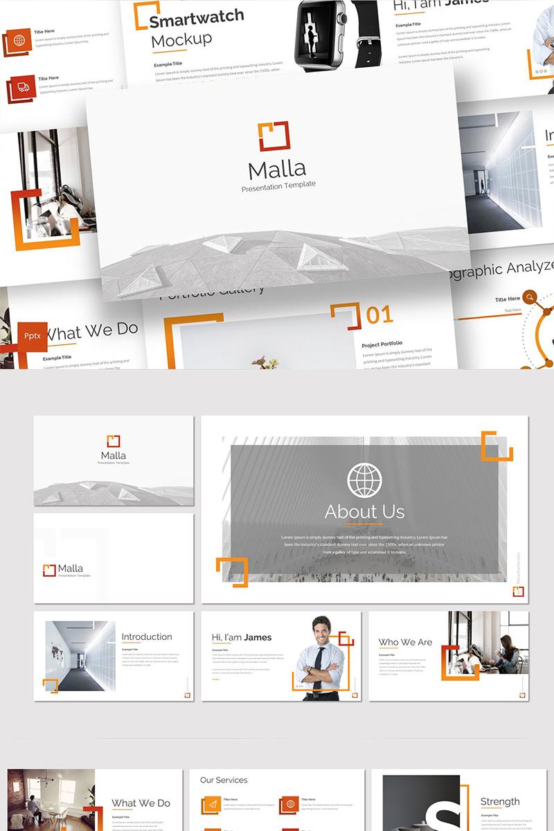 Malla PowerPoint Template