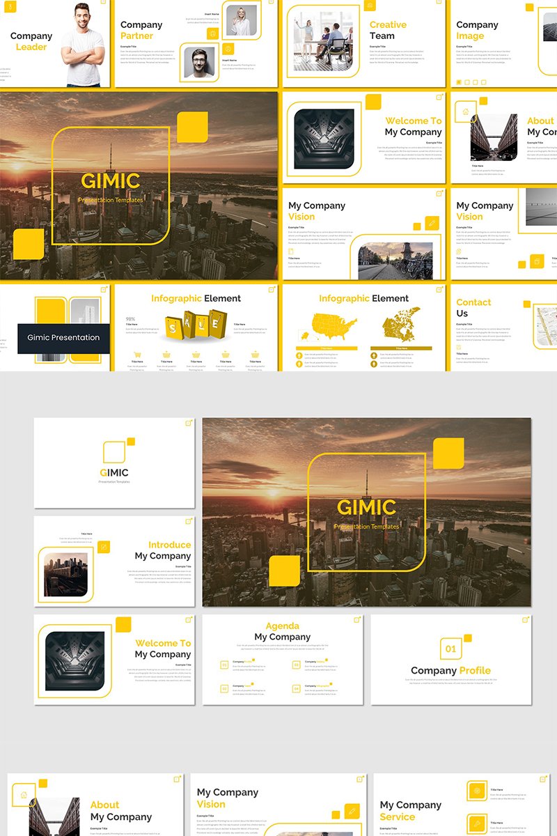 Gimic PowerPoint Template