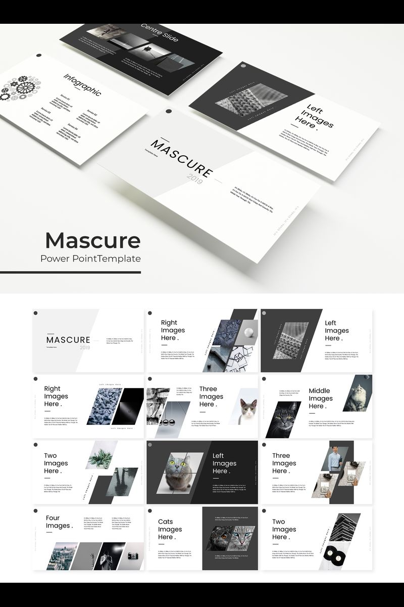 Mascure PowerPoint Template