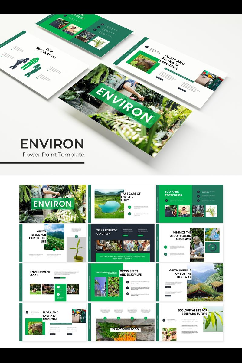 Environ PowerPoint Template