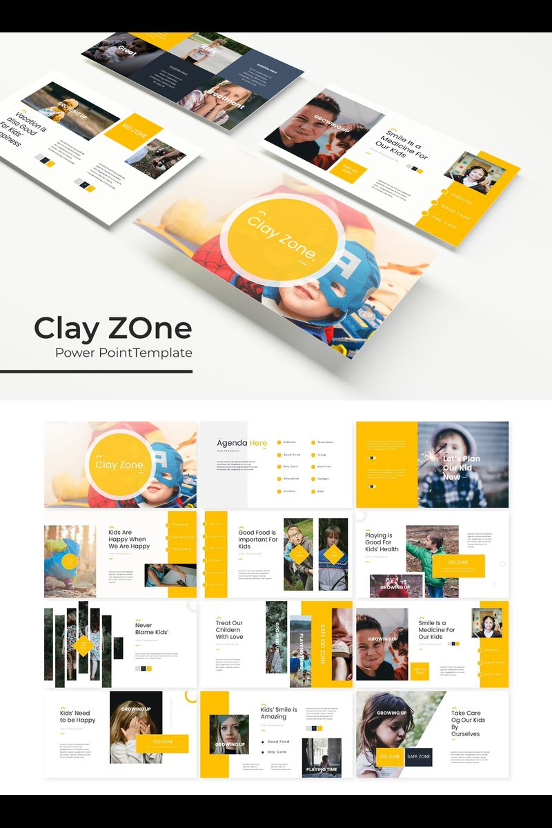 Clayzone PowerPoint Template