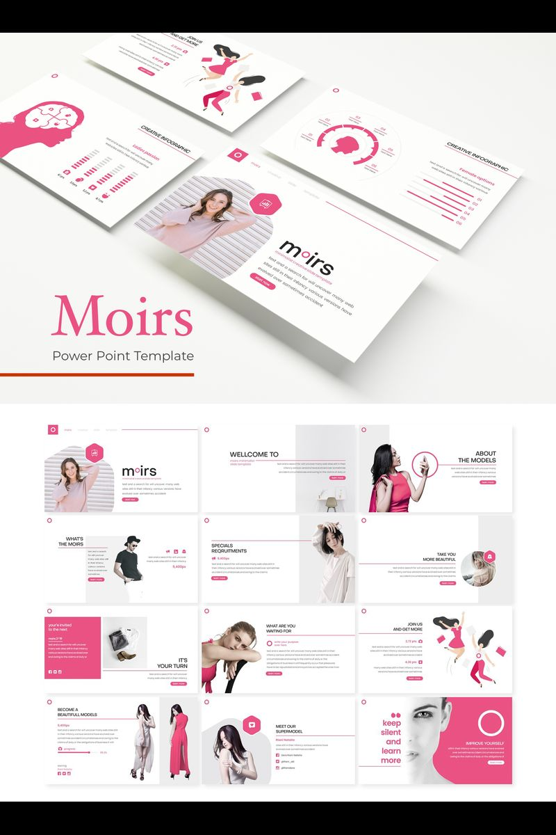 Moirs PowerPoint Template