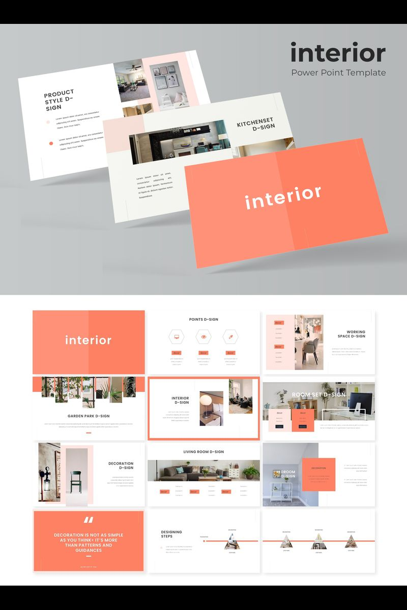 Interior PowerPoint Template