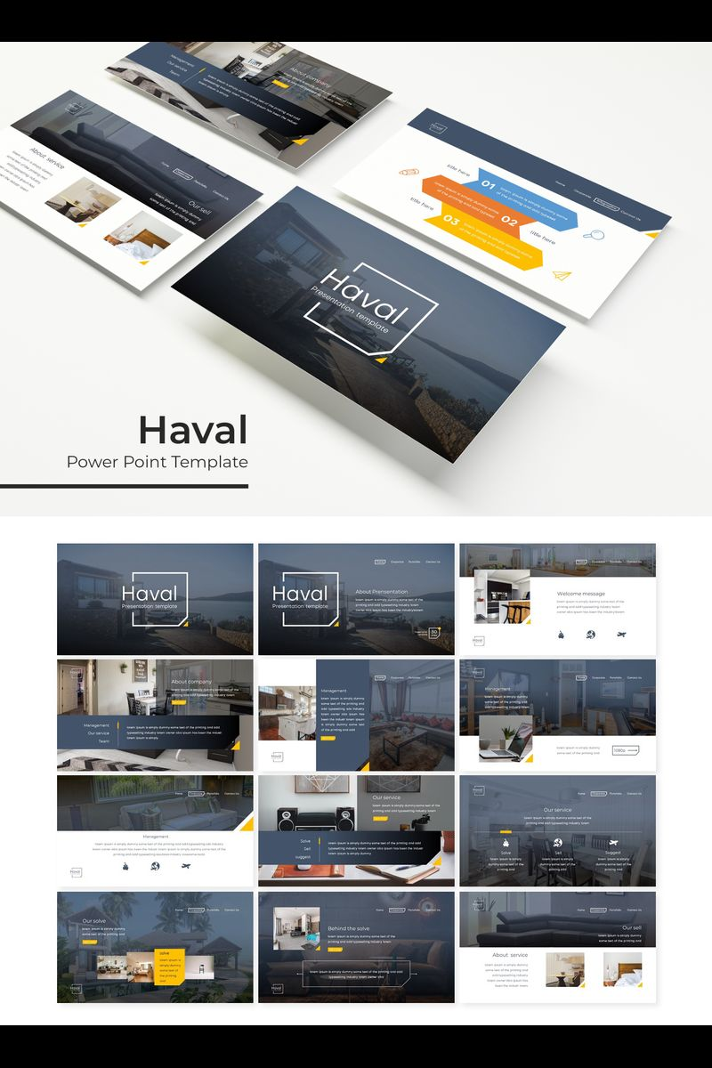 Haval PowerPoint Template