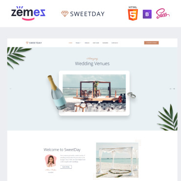 Website Template № 89829