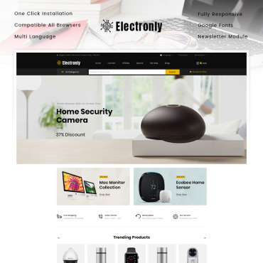 Website Template № 89830