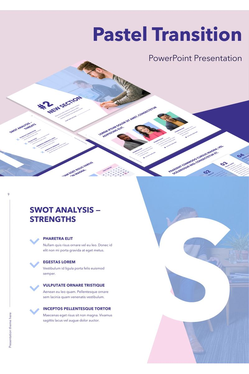 Pastel Transition PowerPoint Template