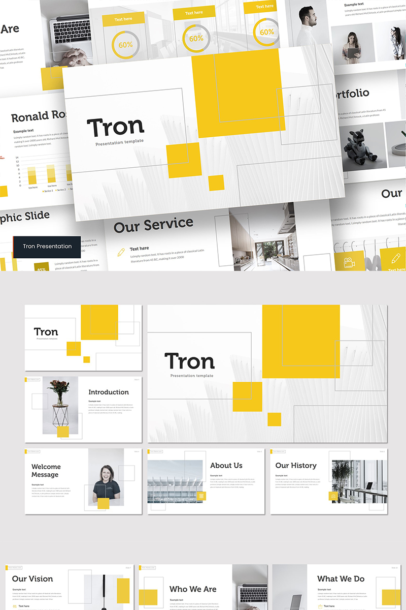 TRON PowerPoint Template