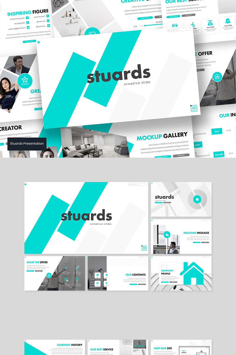 Stuards PowerPoint Template
