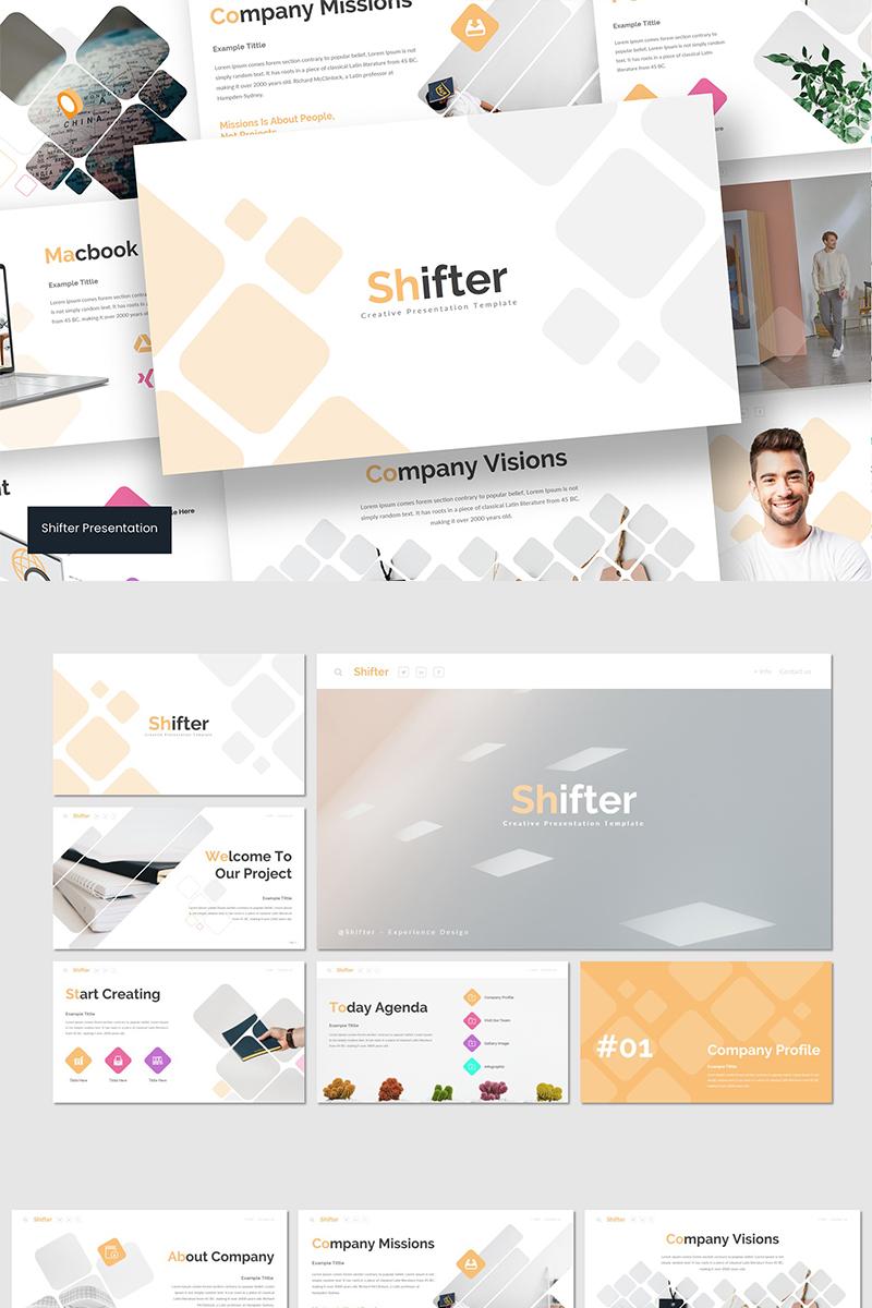 Shifter PowerPoint Template