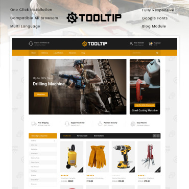 Website Template № 90117