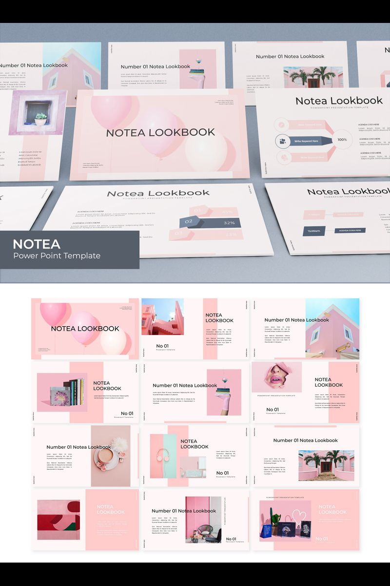 Notea PowerPoint Template