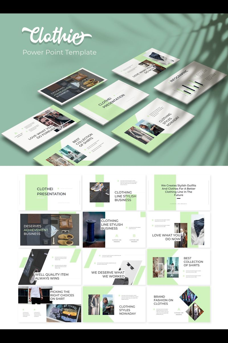 Clothie PowerPoint Template