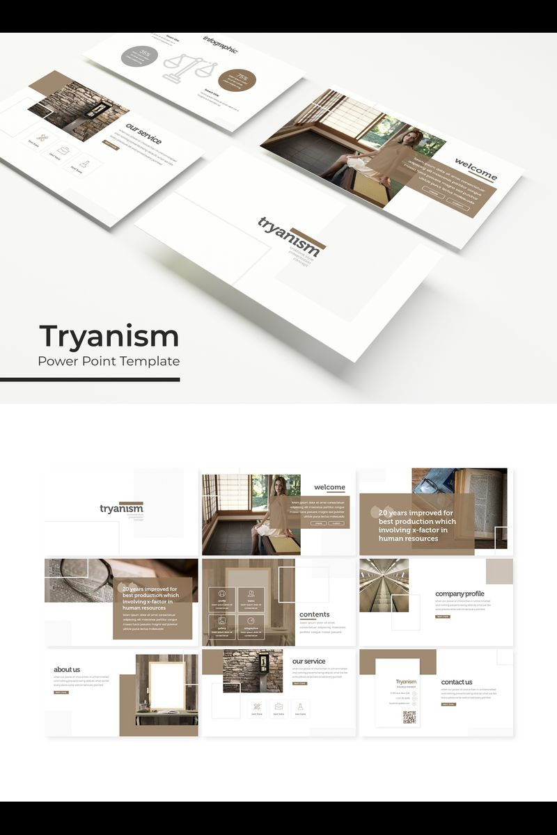 Tryanism PowerPoint Template