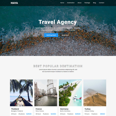 Website Template № 90411