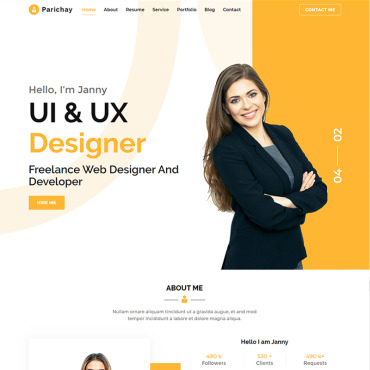Website Template № 90515