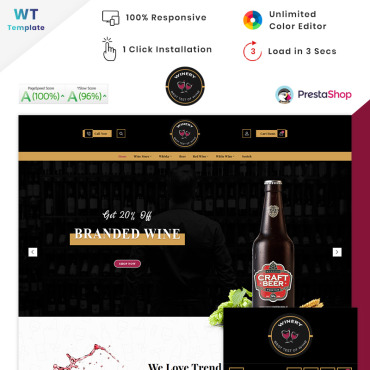 Website Template № 90571