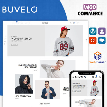 Template Modă WooCommerce #90604