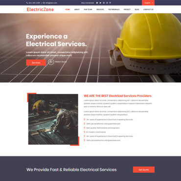 Template Page d'atterrissage #90617