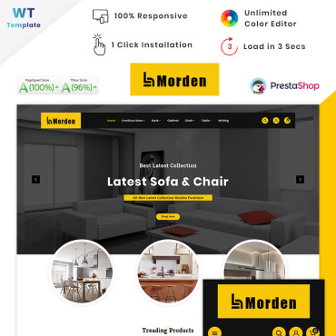 Website Template № 90636