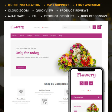 Website Template № 90667
