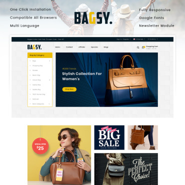 Website Template № 90671