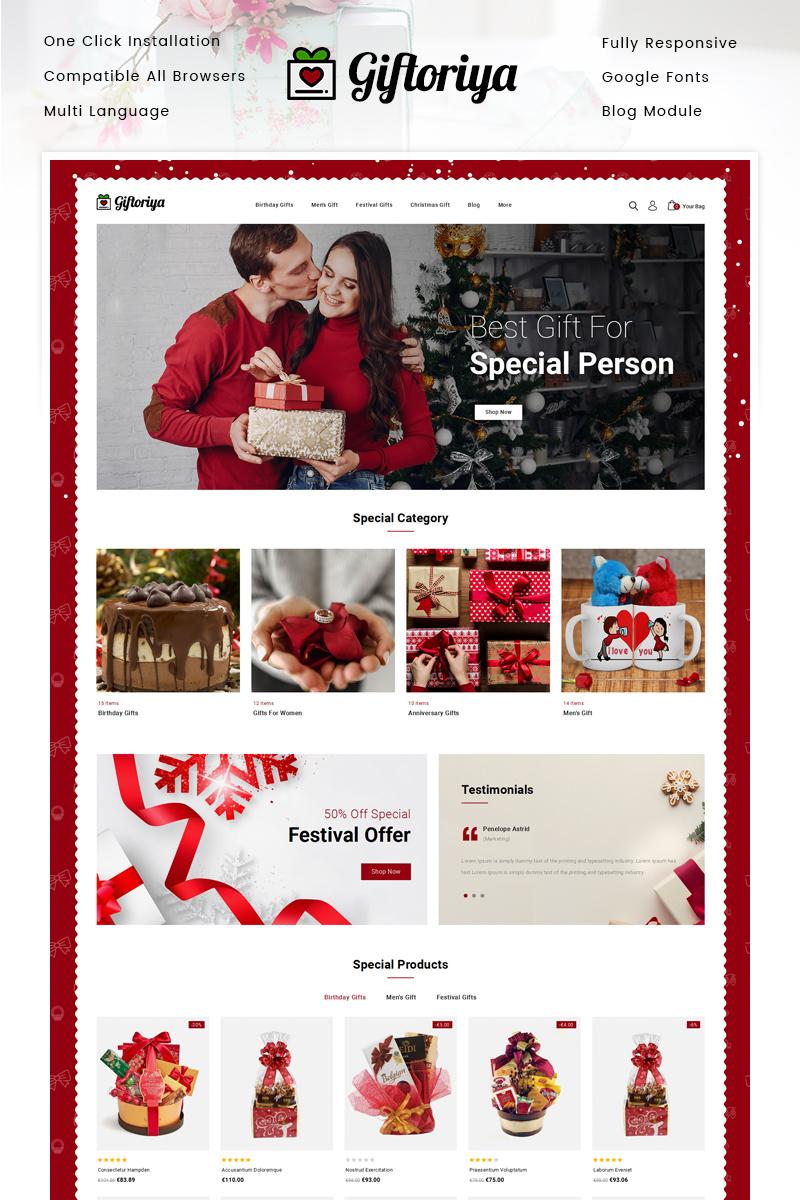 Giftoriya - Gifts Store PrestaShop Theme