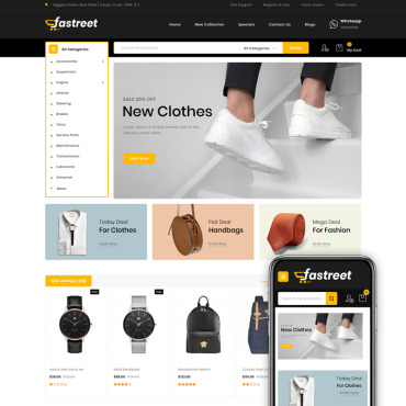 Website Template № 91112