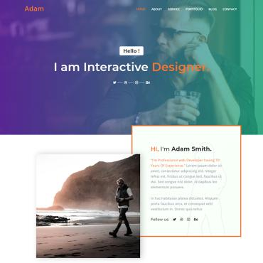 Website Template № 91156