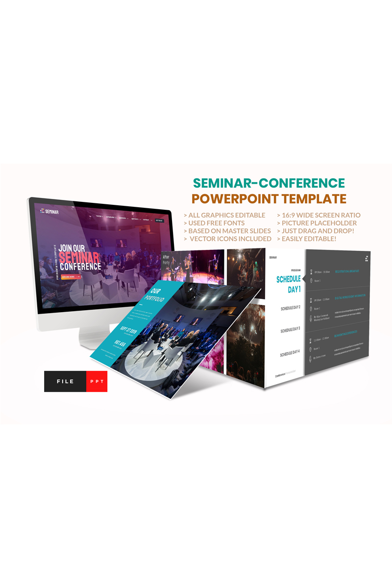 Seminar-Conference PowerPoint Template