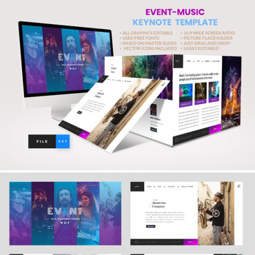 Template Keynote Templates #91484