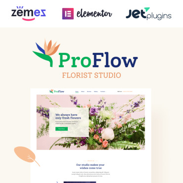 Template Flori WordPress #92026