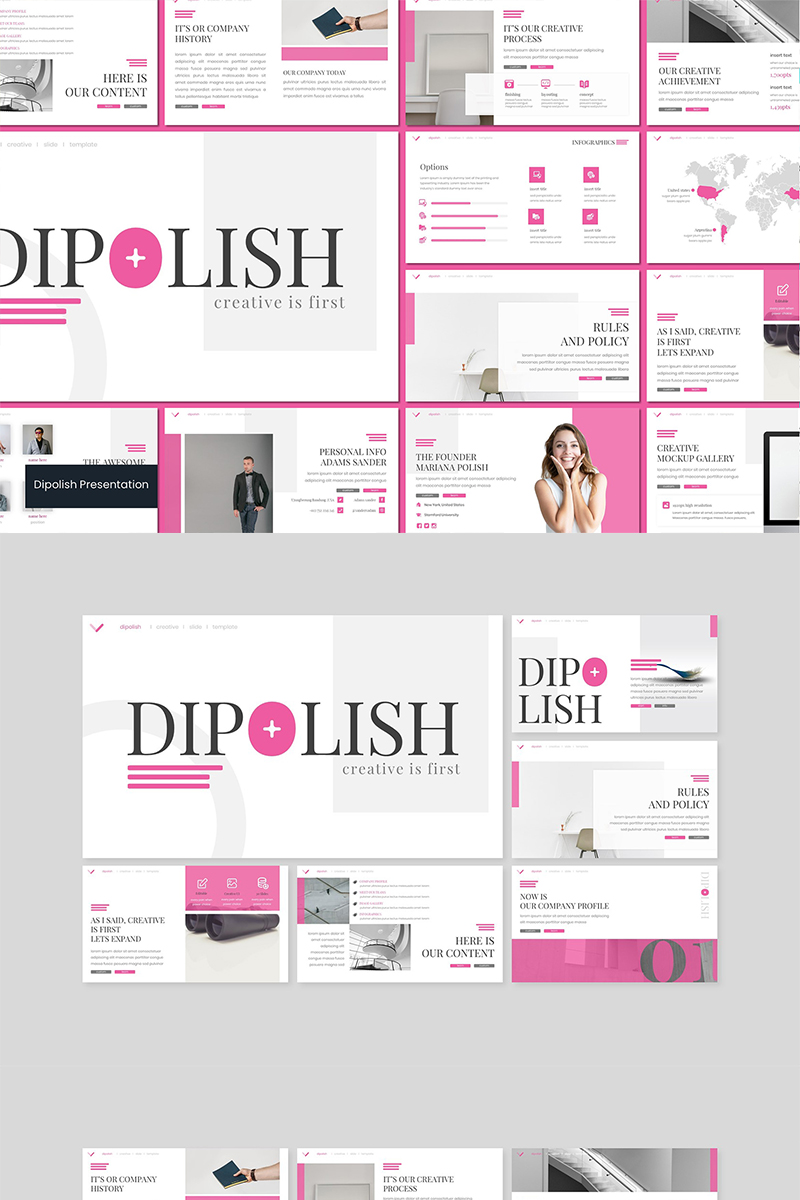 Dipolish PowerPoint Template