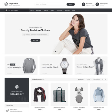 Website Template № 92354