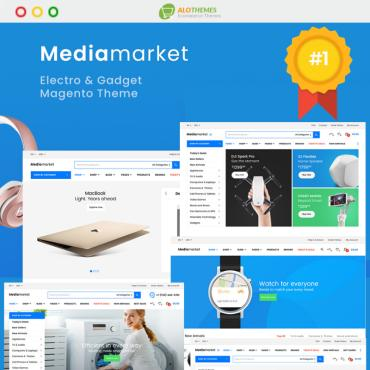 Template Electronice Magento #92912
