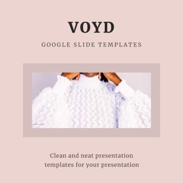 Template Modă Google Slides #93084