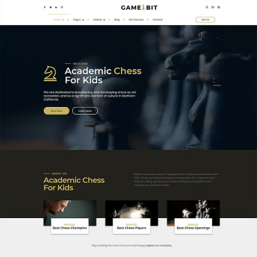 Website Template № 93145