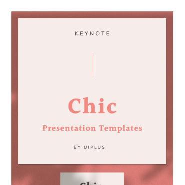 Template Modă Keynote Templates #93156