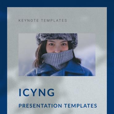 Template Modă Keynote Templates #93195