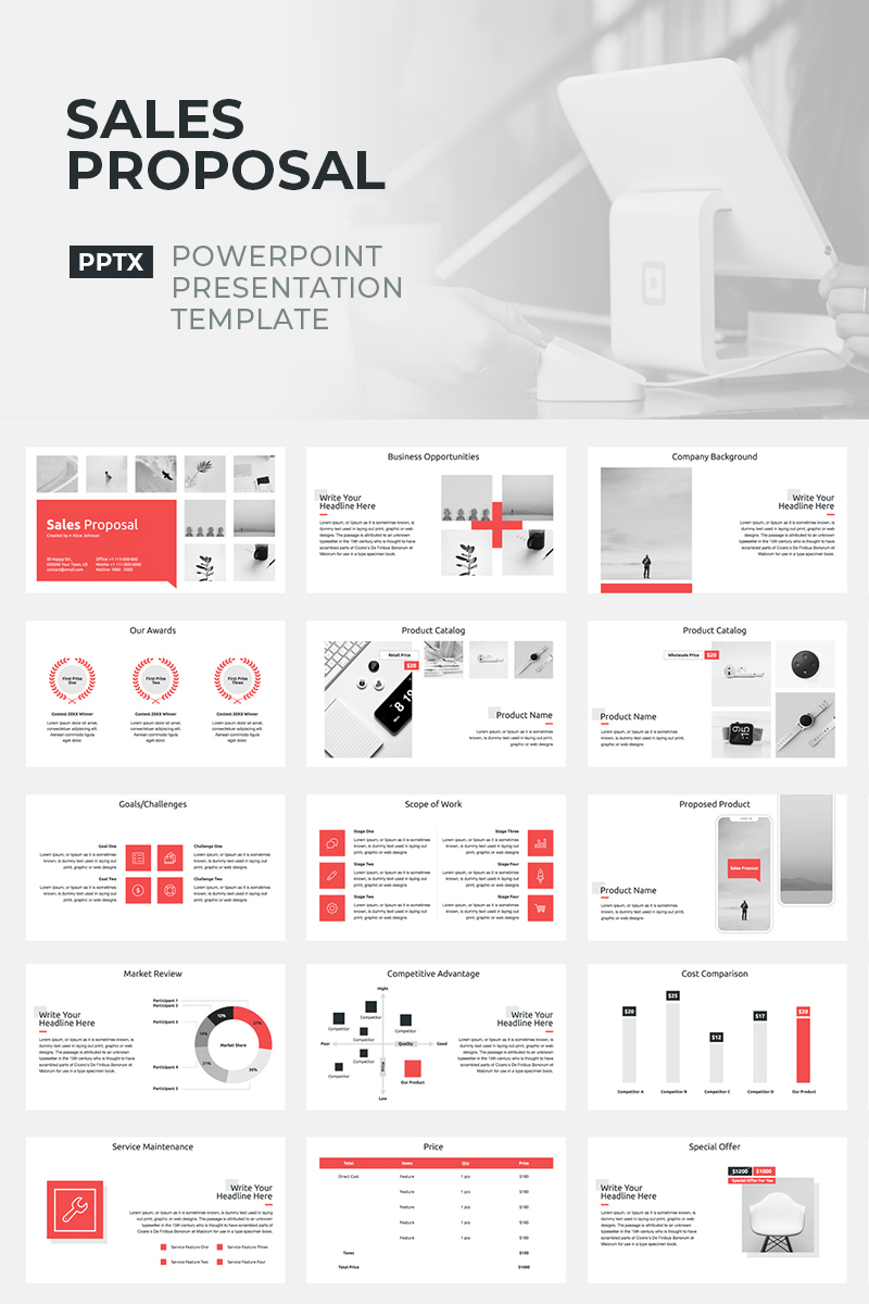 Sales Proposal - PowerPoint Template