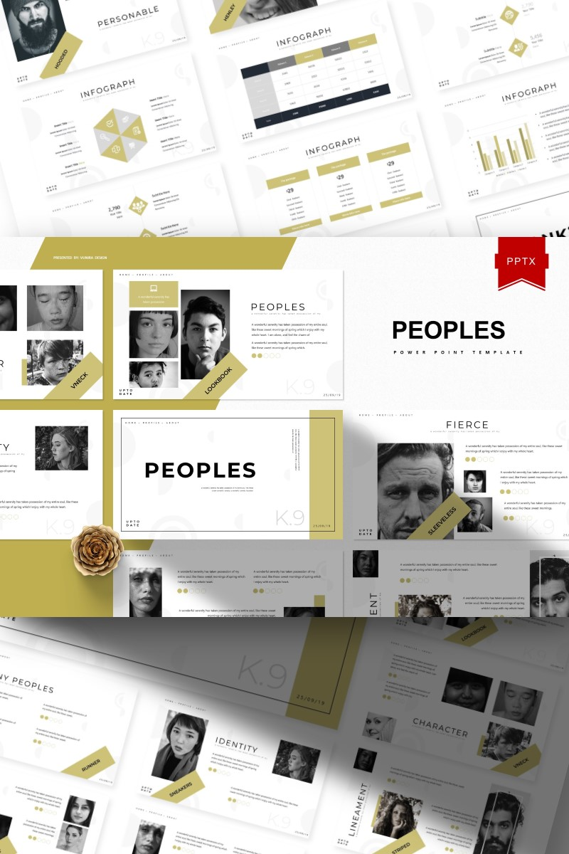 Peoples | PowerPoint Template