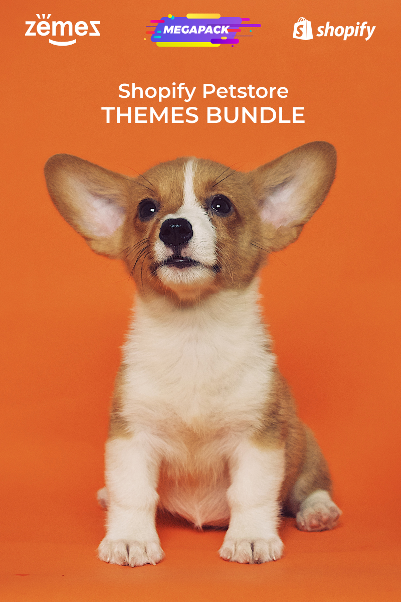 Pets Store Themes Bundle Shopify Theme