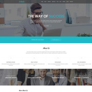 Template Afaceri Landing Page #94052